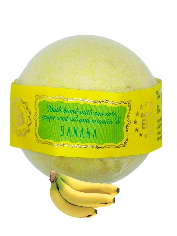 Šumivá bomba do koupele - Banán 145g