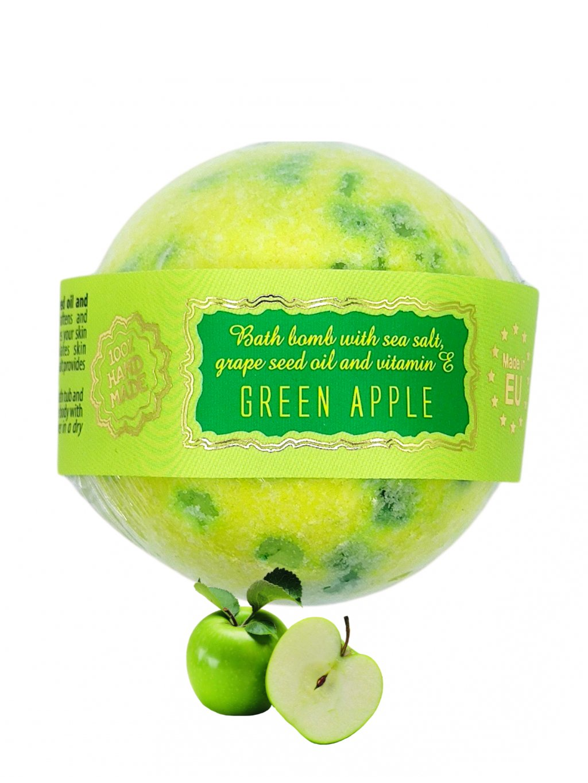 Šumivá bomba do koupele - Zelené jablko 145g