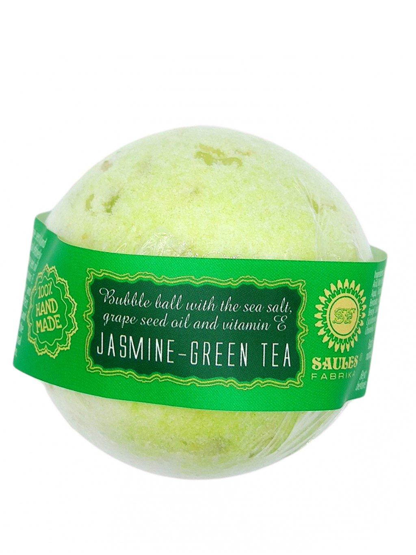Šumivá bomba do koupele - Jasmín a zelený čaj 145g