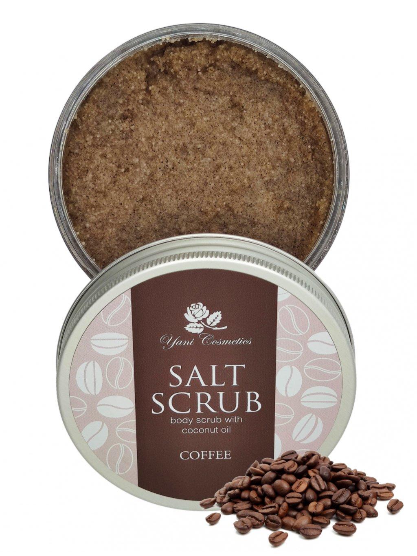 Tělový peeling scrub - Káva 250g