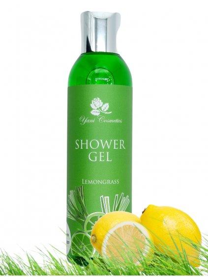 Sprchový gel extra voňavý - Citronová tráva 200 ml - Minimální spotřeba 8/2021