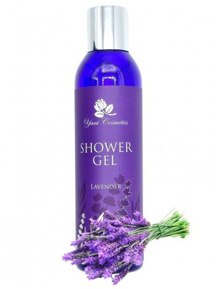 Sprchový gel extra voňavý - Levandule 200 ml - Minimální spotřeba 8/2021