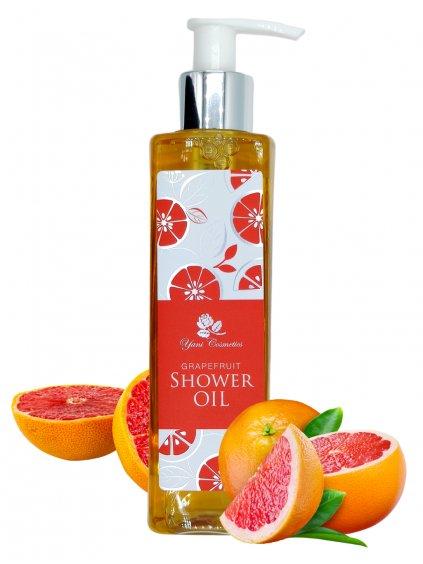 Sprchový olej s bohatou pěnou - Grapefruit 200 ml - Minimální spotřeba 8/2021