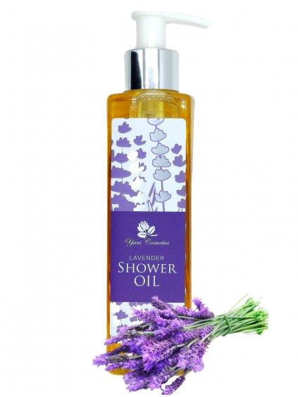 Sprchový olej s bohatou pěnou - Levandule 200 ml