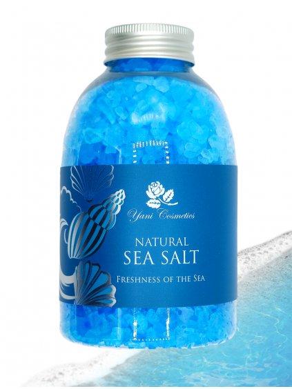 Přírodní mořská sůl do koupele - Vůně moře 500g - Minimální spotřeba 8/2021