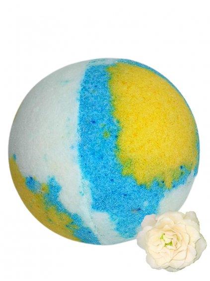 Šumivá bomba do koupele - Bílé květy 125g
