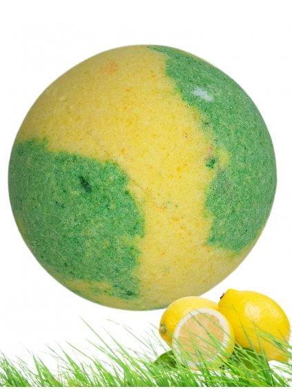 Šumivá bomba do koupele - Citronová tráva 125g