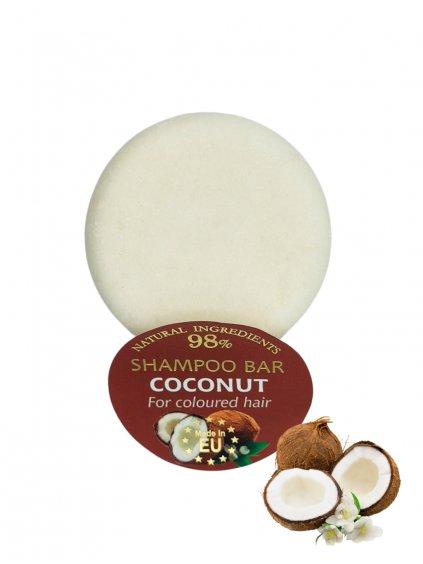 Tuhý šampon - Kokos 60g
