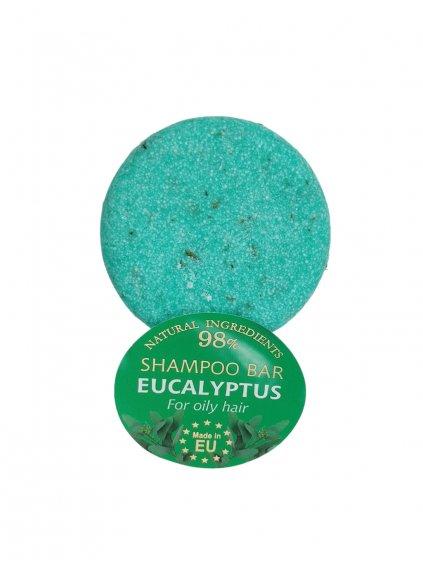 Tuhý šampon - Eukalyptus 60g