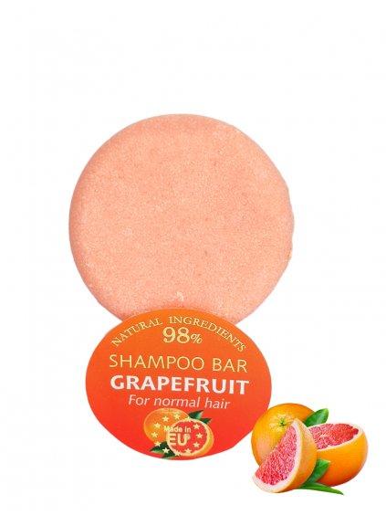 Tuhý šampon - Grapefruit 60g