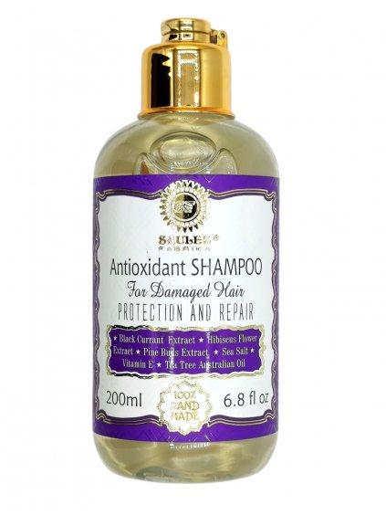 Šampon antioxidant pro poškozené vlasy 200 ml