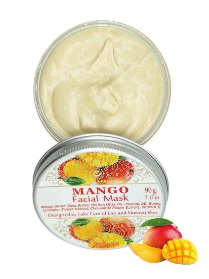 Pleťová maska - Mango 90g