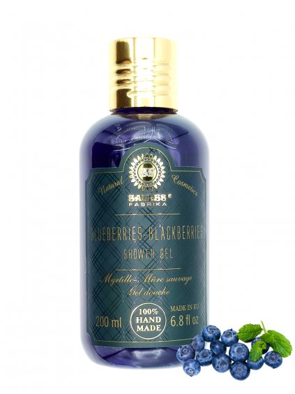 Sprchový gel - Borůvky 200 ml