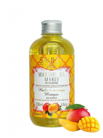 Masážní olej - Mango 200 ml