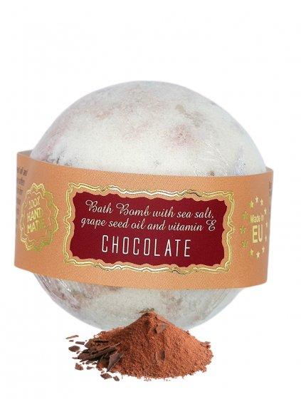 Šumivá bomba do koupele - Čokoláda 145g