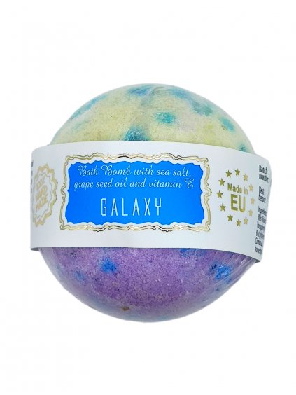 Šumivá bomba do koupele - Galaxy 145g