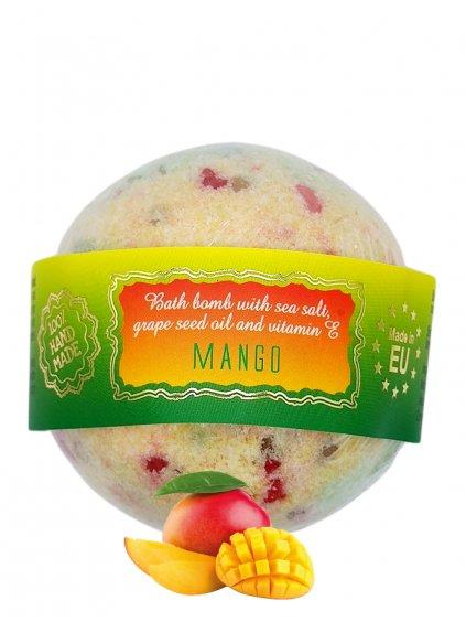Šumivá bomba do koupele - Mango 145g
