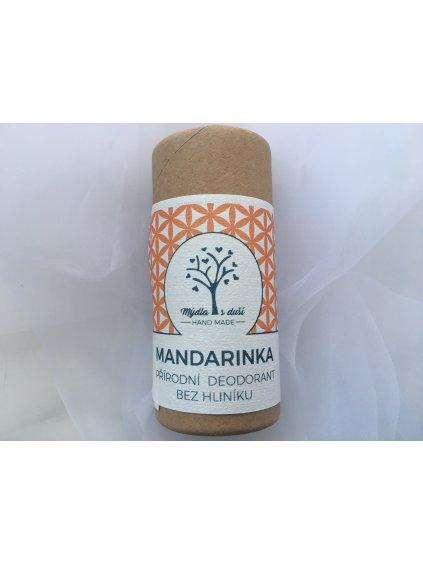 Přírodní deodorant MANDARINKA