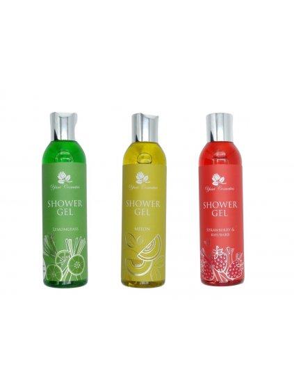 Sprchové gely extra voňavé 2+1 ZDARMA