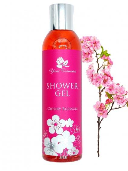 Sprchový gel extra voňavý - Třešňový květ 200 ml - Minimální spotřeba 8/2021