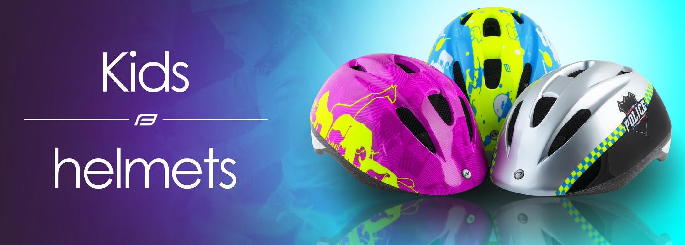 Helmy na kolo pro děti