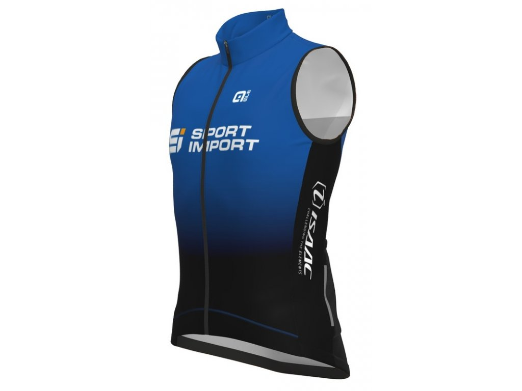 Cyklistická větruodolná vesta ALÉ TEAM PR-S Sport Import