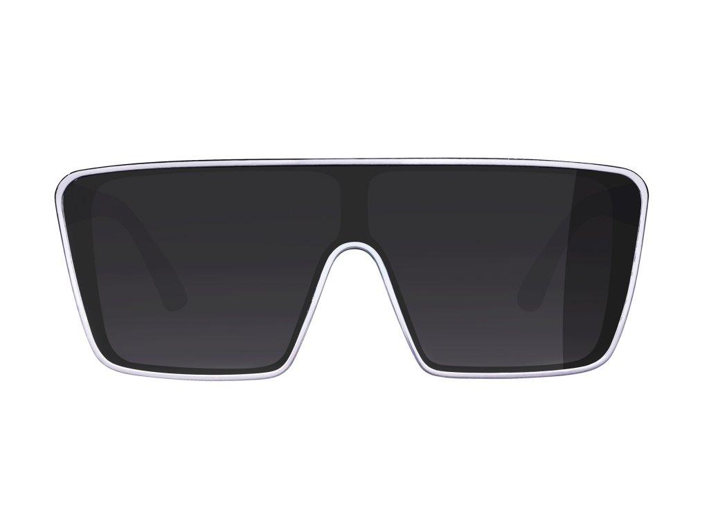 Brýle FORCE SCOPE, černo-bílé, černá skla