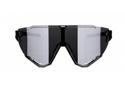 Brýle FORCE CREED černé, černé zrc. skla