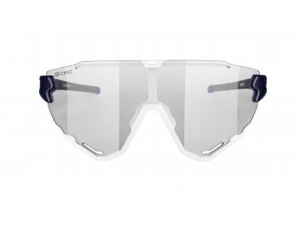 Brýle FORCE CREED modro-bílé, fotochromatická skla