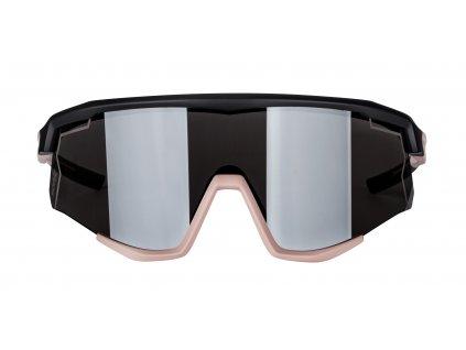 Brýle FORCE SONIC černo-bronzové,stříbr. zrc. skla
