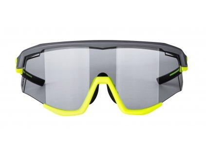 Brýle FORCE SONIC šedo-fluo, fotochromatická skla