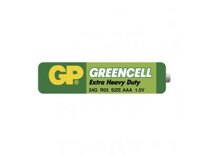 Baterie mikrotužková AAA LR03 GP3G fólie 2 ks