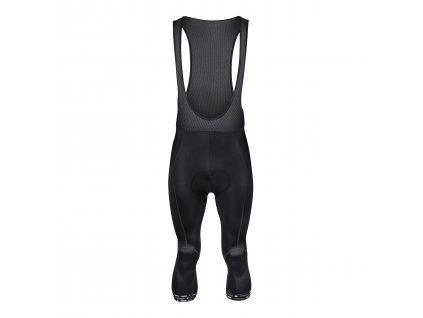 Kalhoty 3/4 F STORY se šráky a vložkou, černé