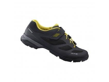 SHIMANO turistická obuv SH-MT501ML, černá,