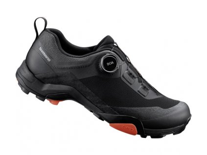SHIMANO turistická obuv SH-MT701ML, černá,