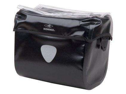 Brašna na řidítka KONNIX Plus Waterproof s rychloupínacím systémem 811