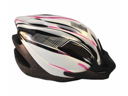 ALFO L/XL růžovo-černo-bílá
