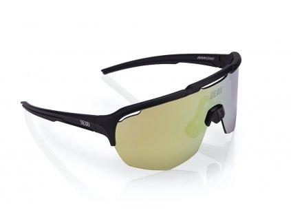 Brýle ROAD Black Mirrortronic Gold