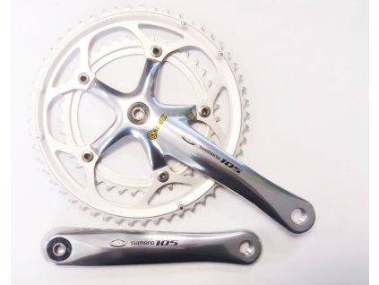 Kliky Shimano 105 FC-5500 53/39 9-rychlostní 52/42/30-170