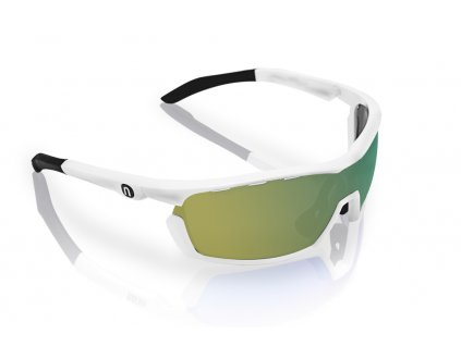 Brýle FOCUS White Mirrortronic Gold