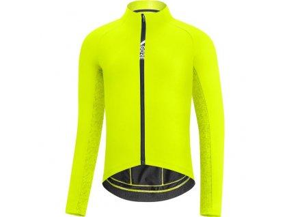 GORE C5 Thermo Jersey-neon yellow/citrus green-XXL