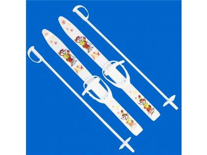 YATE Dětské lyže - Kluzky 70 cm (set)  + 3% sleva po registraci | Doprava od 39 Kč