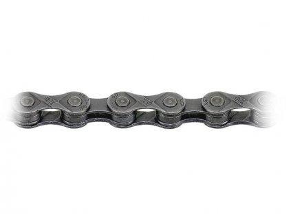 Řetěz KMC X9, 9 kol ,šedý