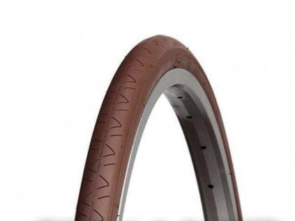 Plášť silniční Vee Rubber 700x28c - drát barva hnědá, reflex