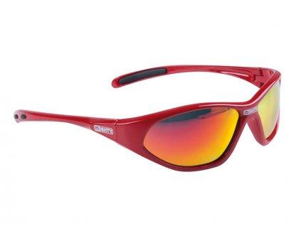 Brýle Mighty dětské červené zrcadlové