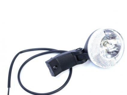 Přední světlo na dynamo s odrazkou TRELOCK 6V-2,4W +kabel + držák