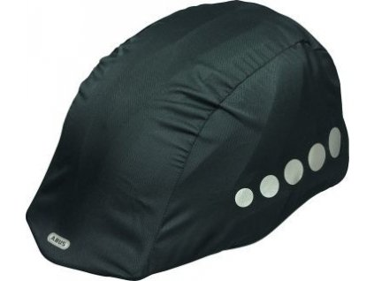 ABUS Pláštěnka na přilbu Black