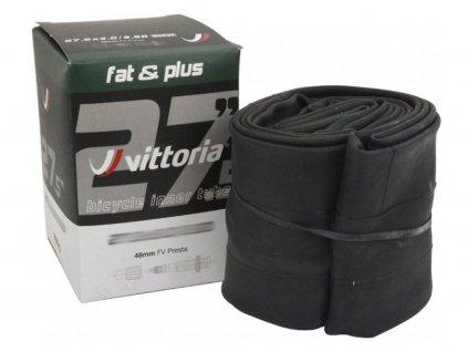"""Duše MTB 27.5""""-Fat & Plus Vittoria 27.5"""" x 3.00-3.50 FV galuskový ventilek 48mm"""