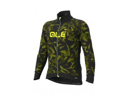 Zimní cyklistická bunda ALÉ pánská GRAPHICS PRR Glass