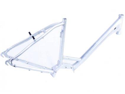 """Rám Treking 28"""" E-bike dámský, pro motor Shimano STEPS E6000, velikost 20"""", surový bez barvy a polepu"""